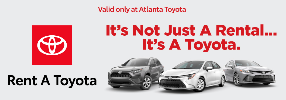 Toyota Rent A Toyota - It's not just a rental... it's a Toyota