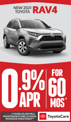 2020 toyota RAV4 0% APR offer for 60 months - click here to view inventory
