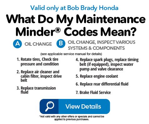 Bob Brady Honda Service Specials Bob Brady Honda