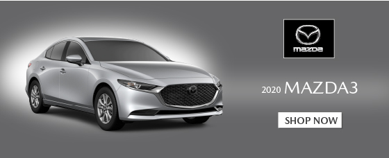 Click to Shop 2020 Mazda3 models