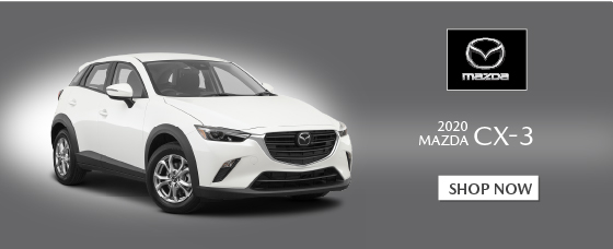 Click to Shop 2020 CX-3 models