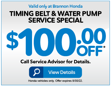 TIMING BELT AND WATER PUMP SERVICE SPECIAL, $80 OFF* VIEW DETAILS