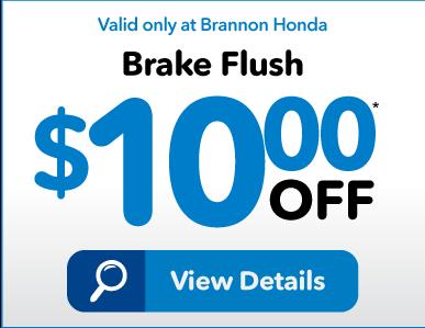 Brannon Honda Service Special