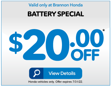 BATTERY SPECIAL $20 off* VIEW DETAILS