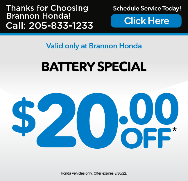 Battery Special - $20 off*