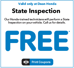 State Inspection Coupon >> Contentpages Dean Honda Pittsburgh Honda New Honda