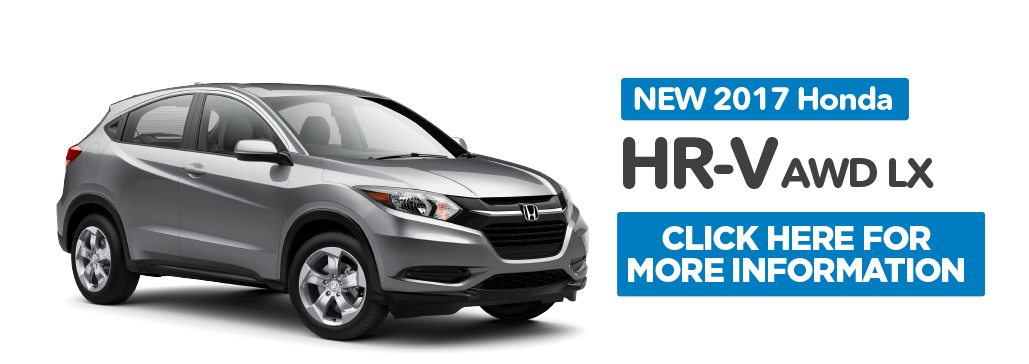 HR-V Special. click here to take advantage of this offer