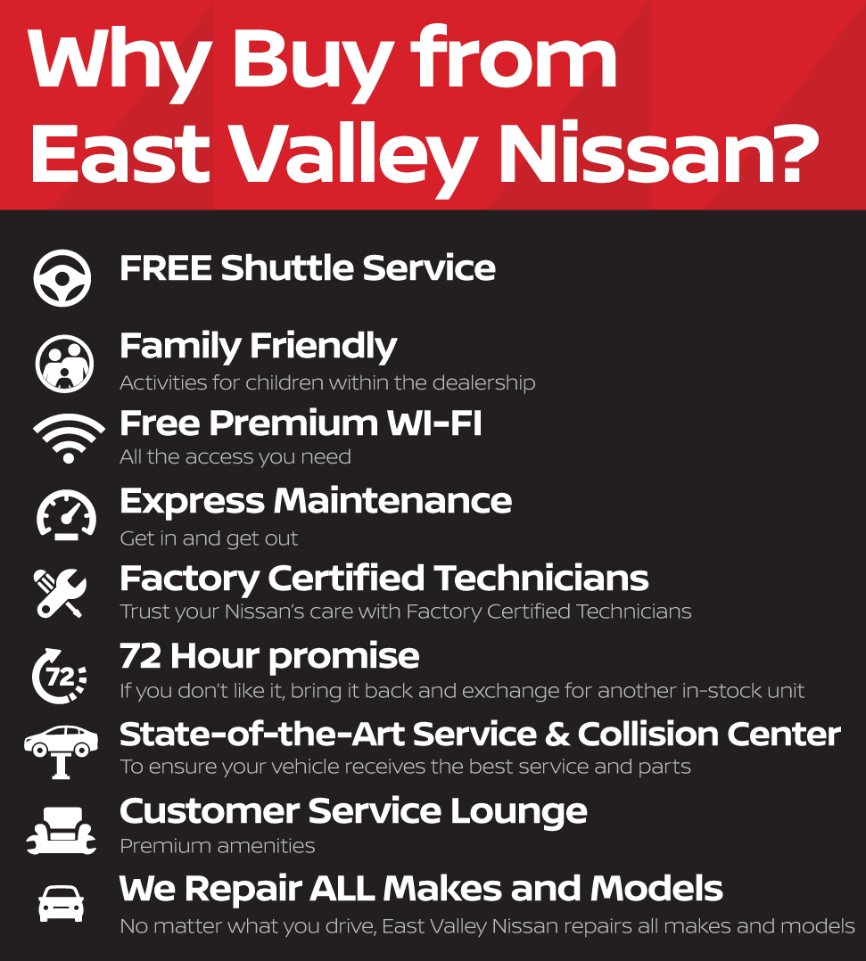 Why Buy from East Valley Nissan?