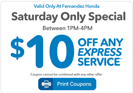 Auto Service Specials | Fernandez Honda near San Antonio