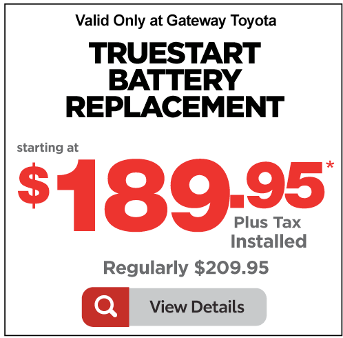 Gateway Toyota Service Special