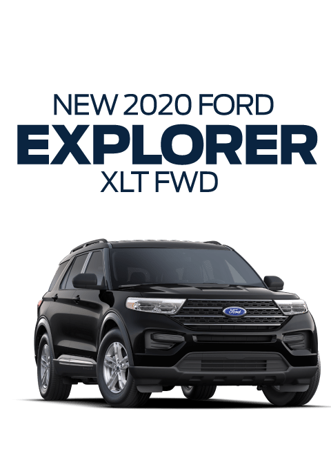 New 2020 Ford Explorer XLT FWD specials