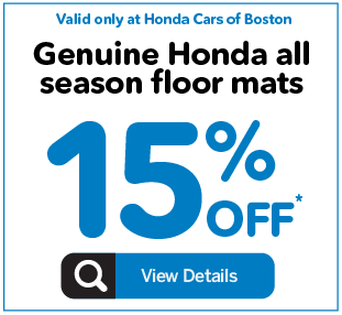 Honda Cars of Boston Service Special 3