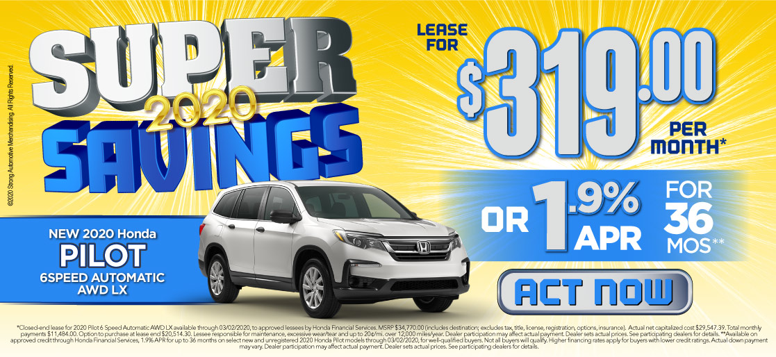 Check Out These Savings. Click Here to View Inventory
