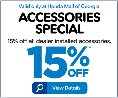 Accessories Special - 15% off - Click to View Details