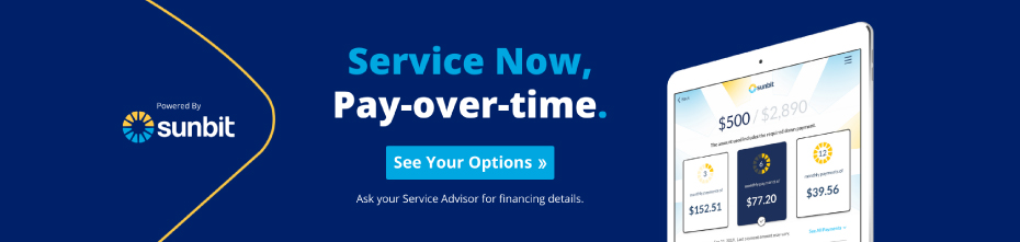 Service Now. Pay-over-time. Click to See Your Options.