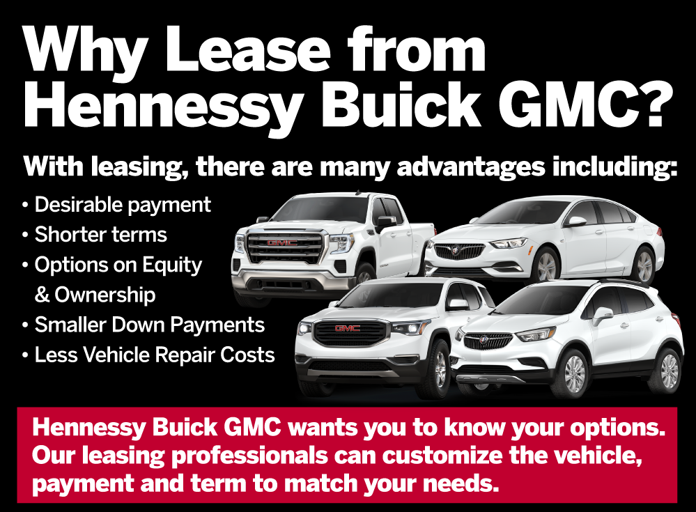 Why Lease from Hennessy Buick GMC?