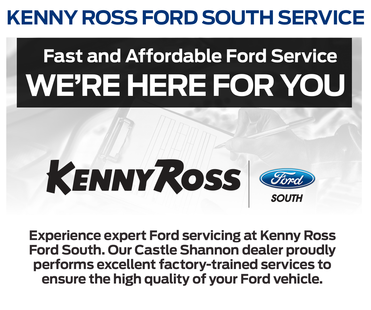 Ford Service Center at Kenny Ross Ford South
