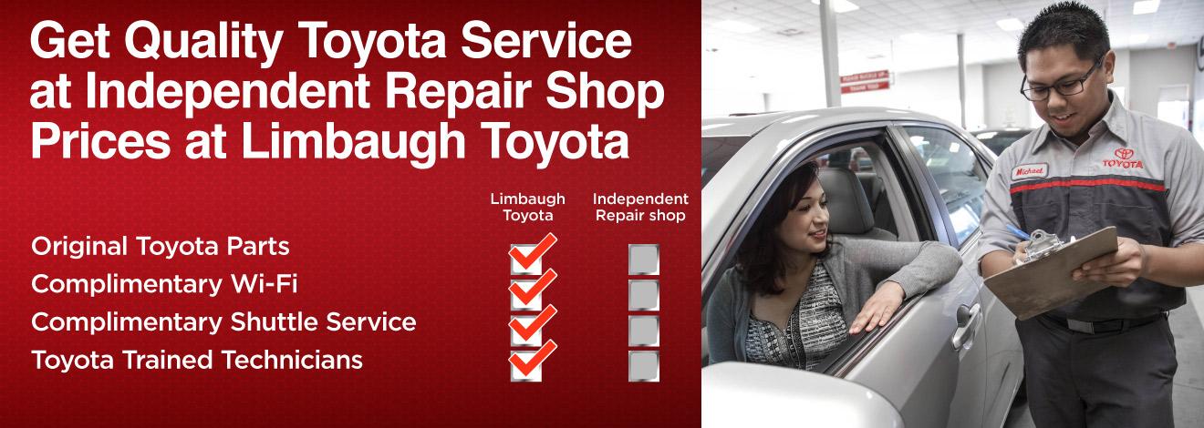 Toyota Dealership Birmingham >> Service Specials in Birmingham, AL at Limbaugh Toyota near Bessemer
