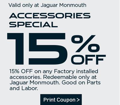 Jaguar Parts Coupon
