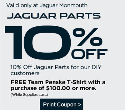 Jaguar Parts Specials