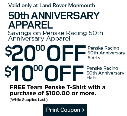 50th Anniversary Apparel