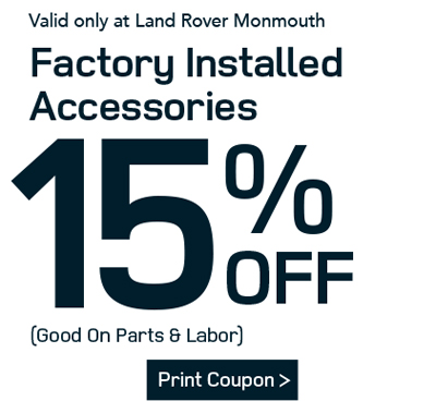 Auto Service Coupons in Ocean | Land Rover Monmouth