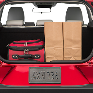 2018 Mazda CX-3 Trunk space