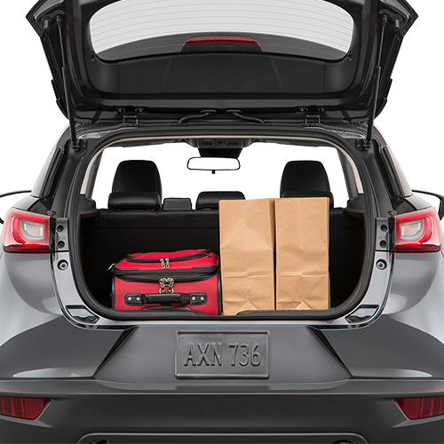 Mazda CX-3 Trunk space