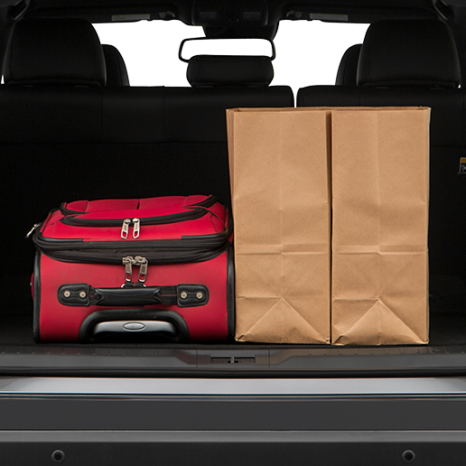 2018 Mazda CX-9 Trunk space
