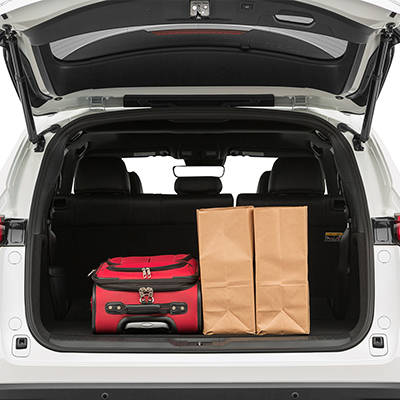 Mazda CX-9 Trunk space
