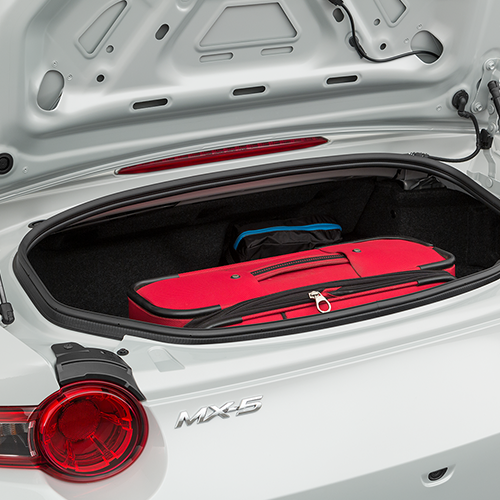 Mazda Miata MX-5 Trunk space