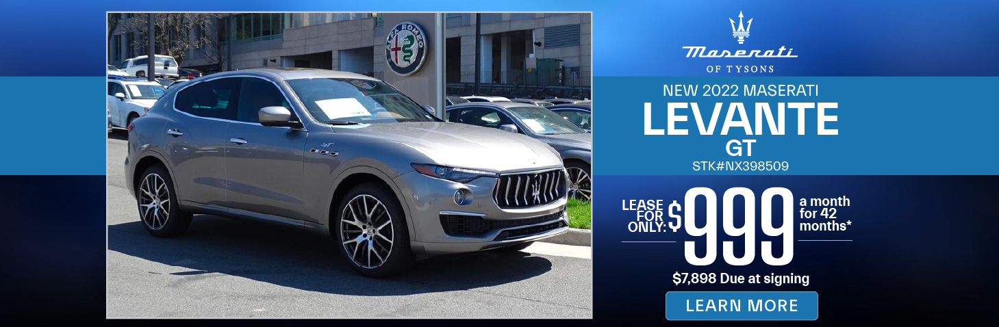 New 2020 Maserati Ghibli | Lease for only $799 | Learn More