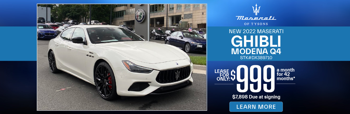 New 2020 Maserati Levante | Lease for only $799 | Learn More
