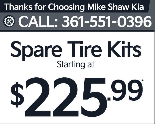 Spare Tire Kits Starting at $225.99