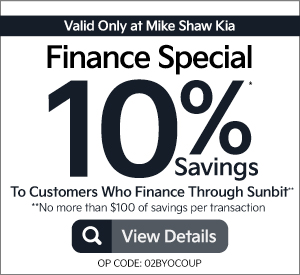 10% savings to customers to finance through Sunbit - Click to View Details