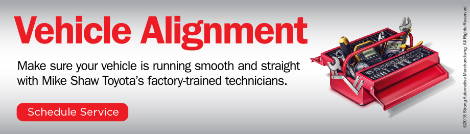 Mike Shaw Toyota Vehicle Alignment