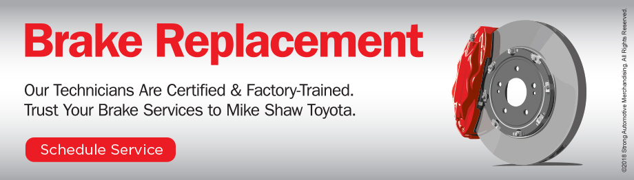 Mike Shaw Toyota Brake Replacement