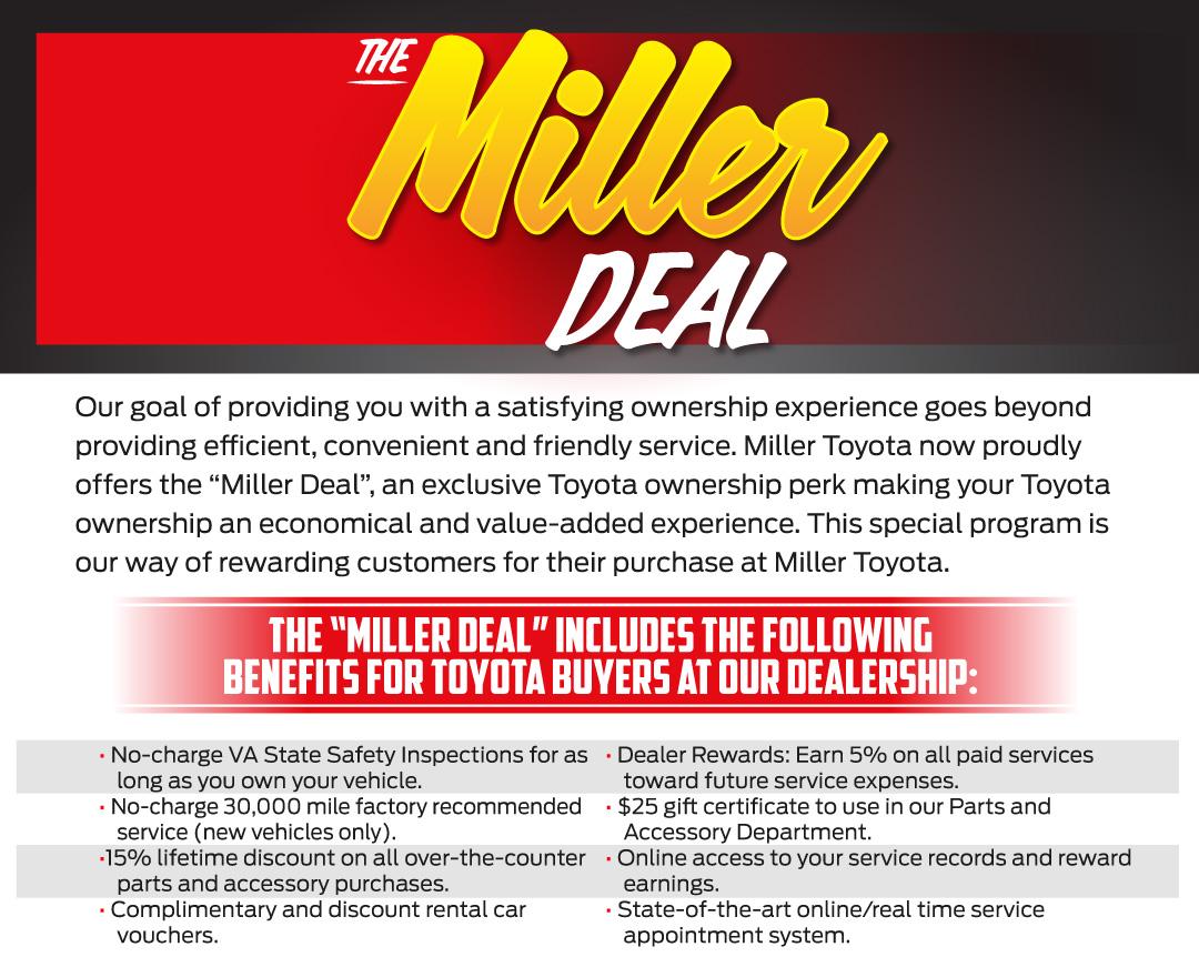 The Miller Deal at Miller Toyota