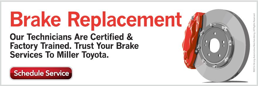 Genuine Toyota Brakes Miller Toyota Manassas Va