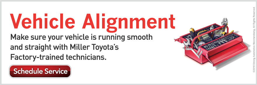 Vehicle Alignments at Miller Toyota