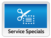 Click here for service specials