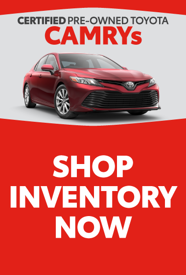 Certified Pre-Owned 2021 Toyota Camry SE starting at $21,977
