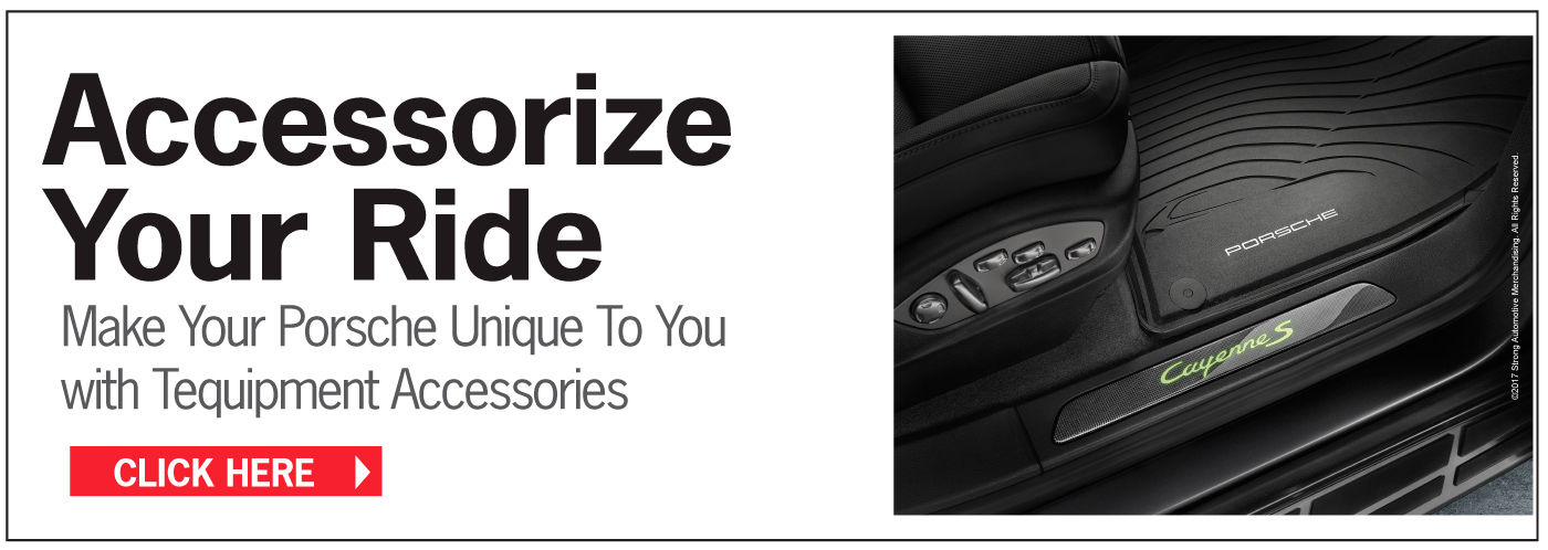 product Accessorize Your Ride Make Your Porsche Unique To You With Tequipment Accessories Click Here