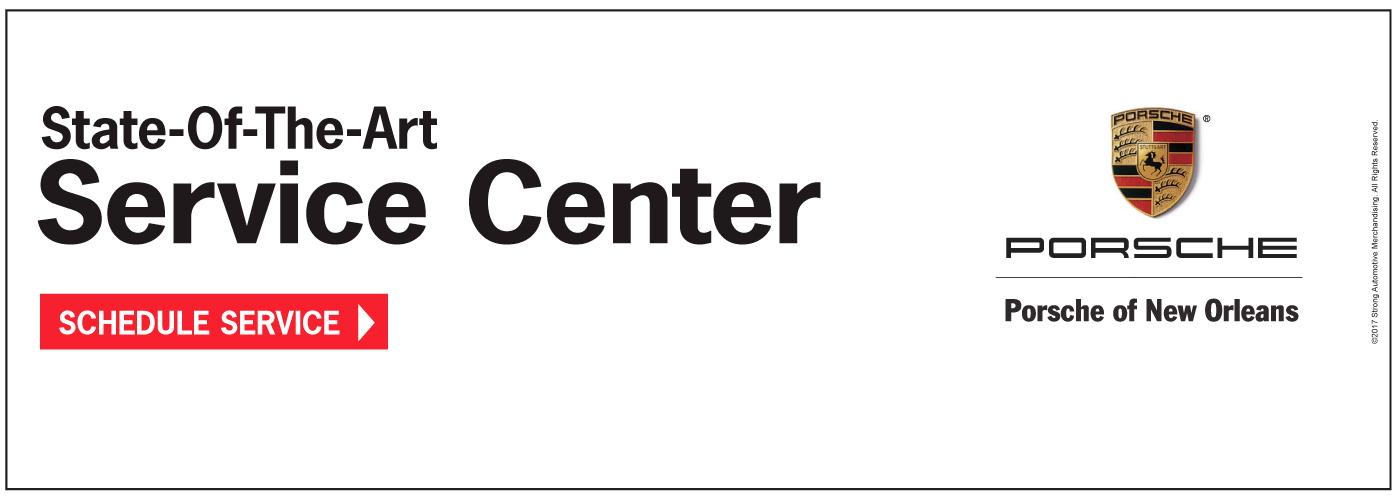 text State-of-the-art Service Center - マ Porsche Porsche Of New Orleans Schedule Service
