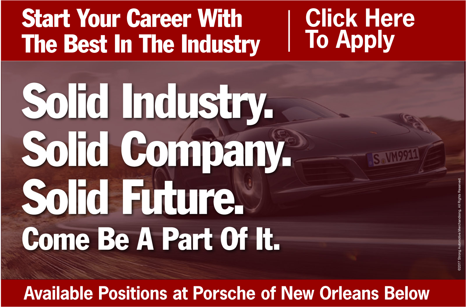 Porsche of New Orleans Careers