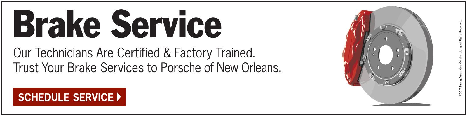 Brake Service - Click Here Schedule Service