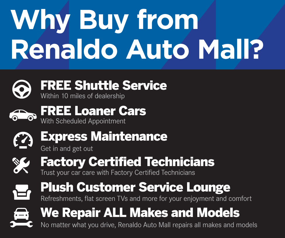 Why Buy from Renaldo Auto Mall?