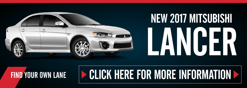 New Mitsubishi Lancer - on sale now. click here.