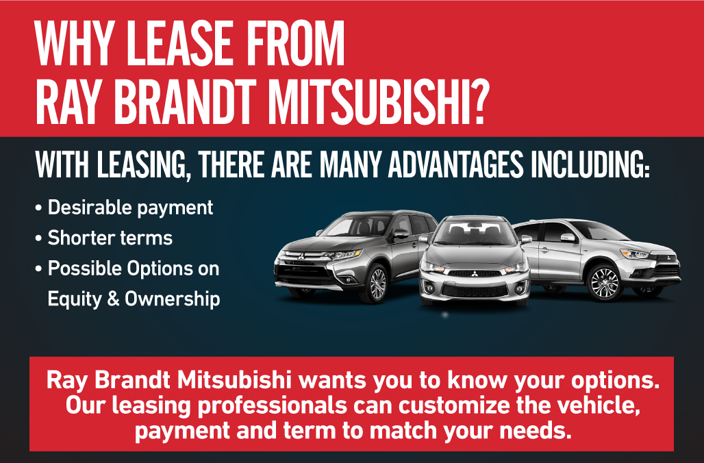 Why Lease from Ray Brandt Mitsubishi
