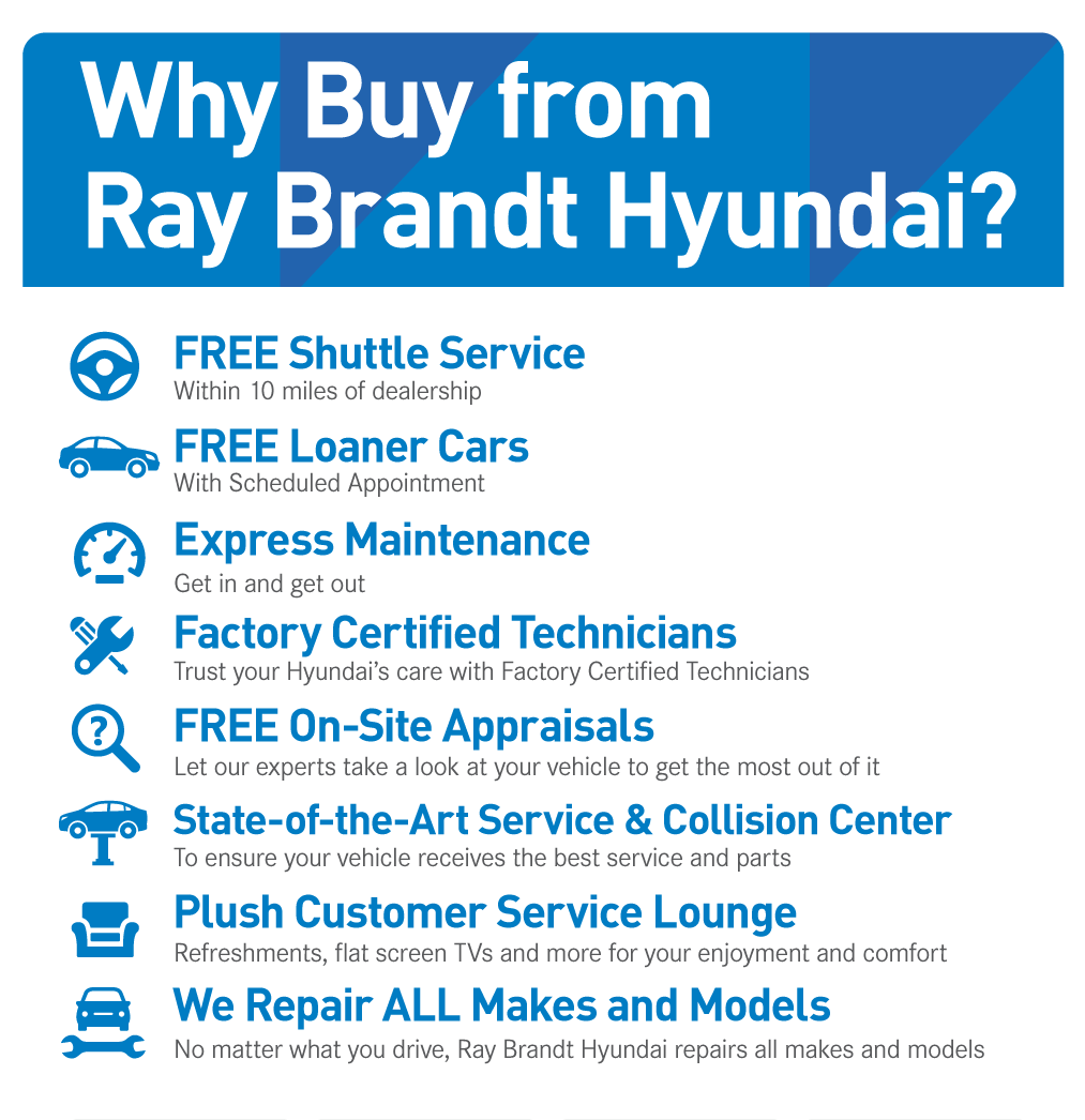 Why Buy from Ray Brandt Hyundai?